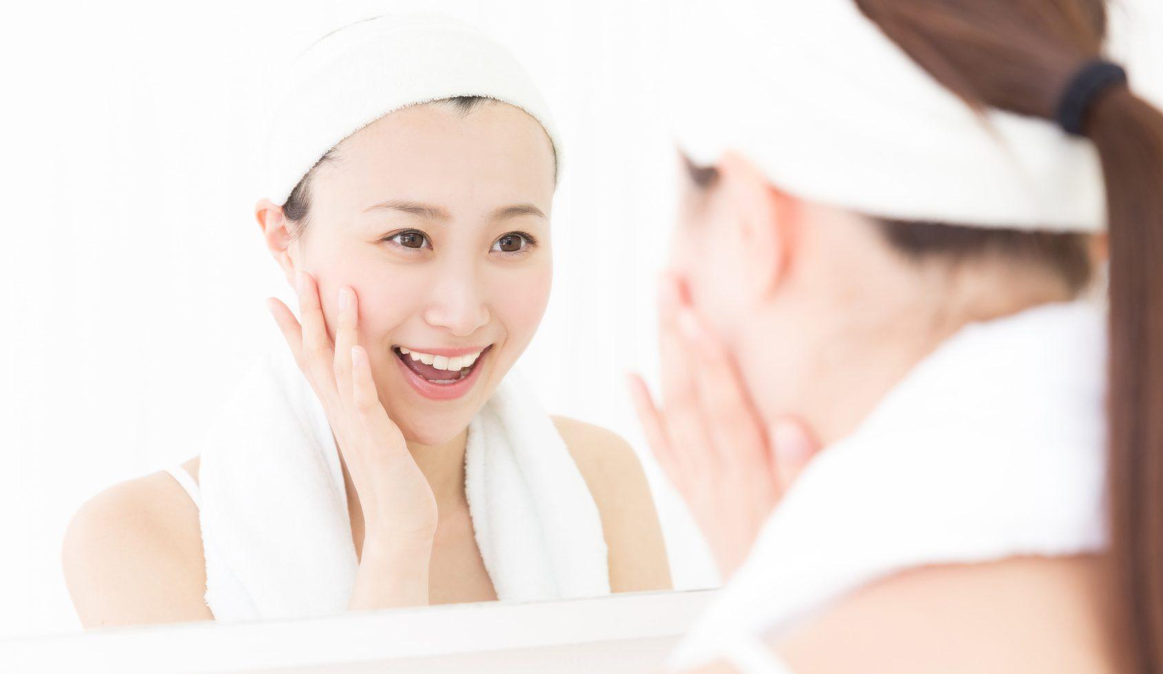 毛穴レスな洗顔