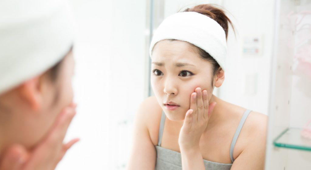 化粧崩れの原因は朝の洗顔