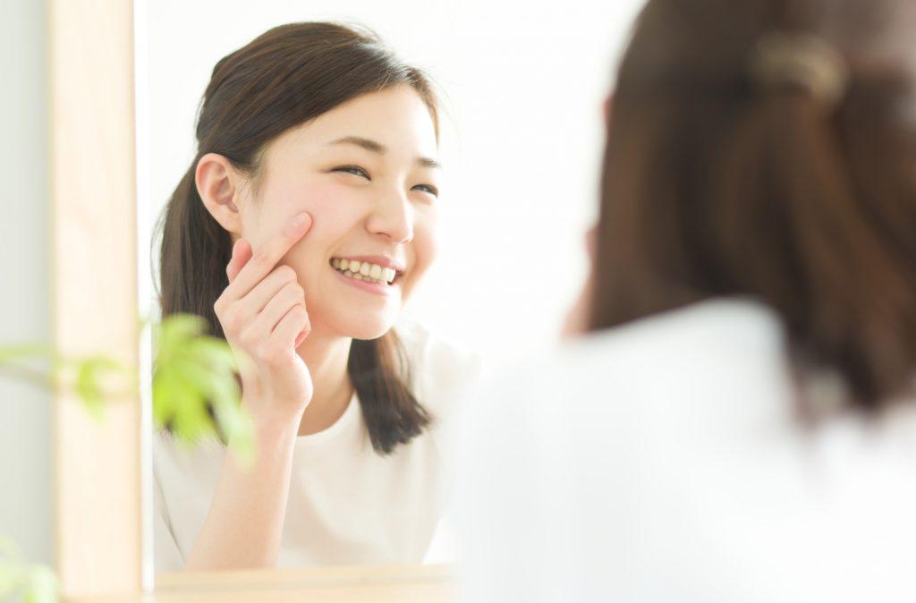 洗顔方法の切り替え