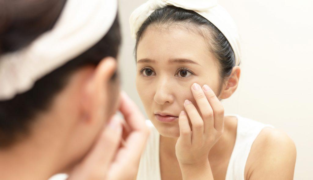 目の下のたるみが見た目年齢の原因
