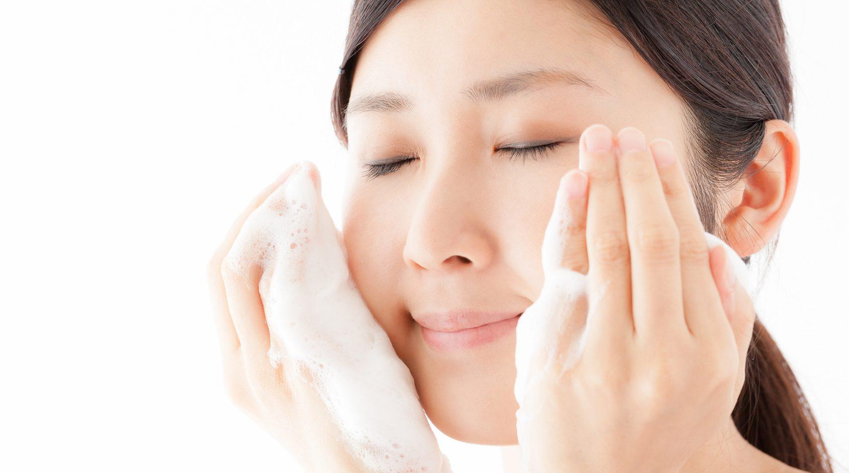 くすみの洗顔料