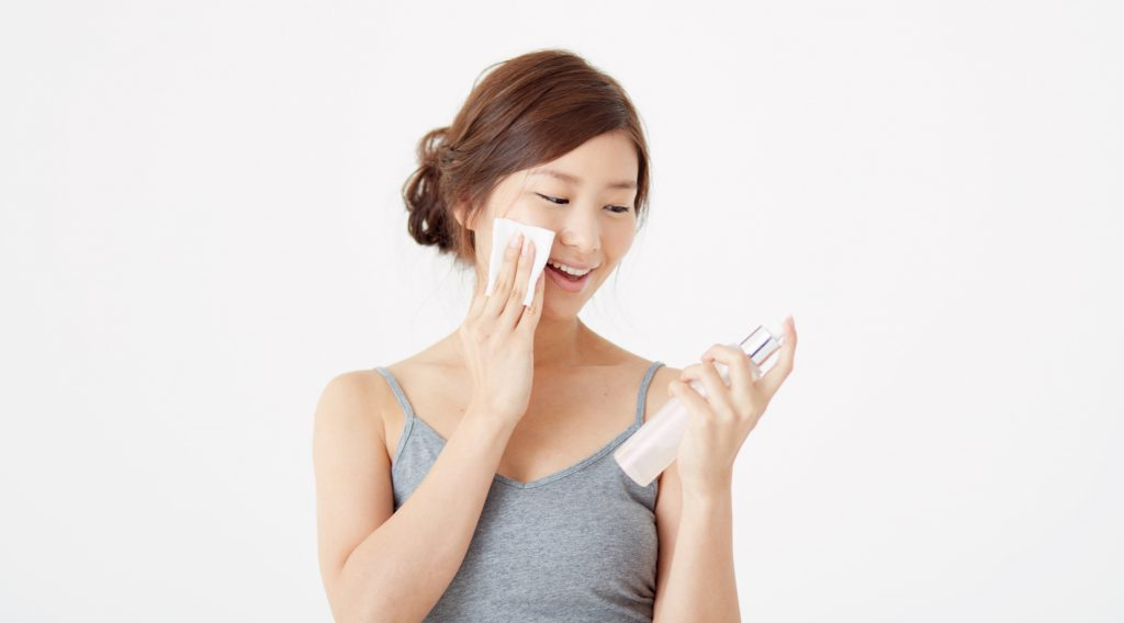 乾燥肌の化粧水の使い方