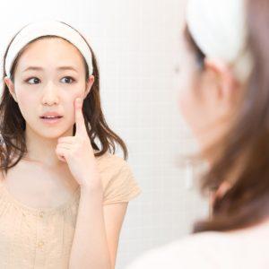 乾燥肌の原因は洗顔