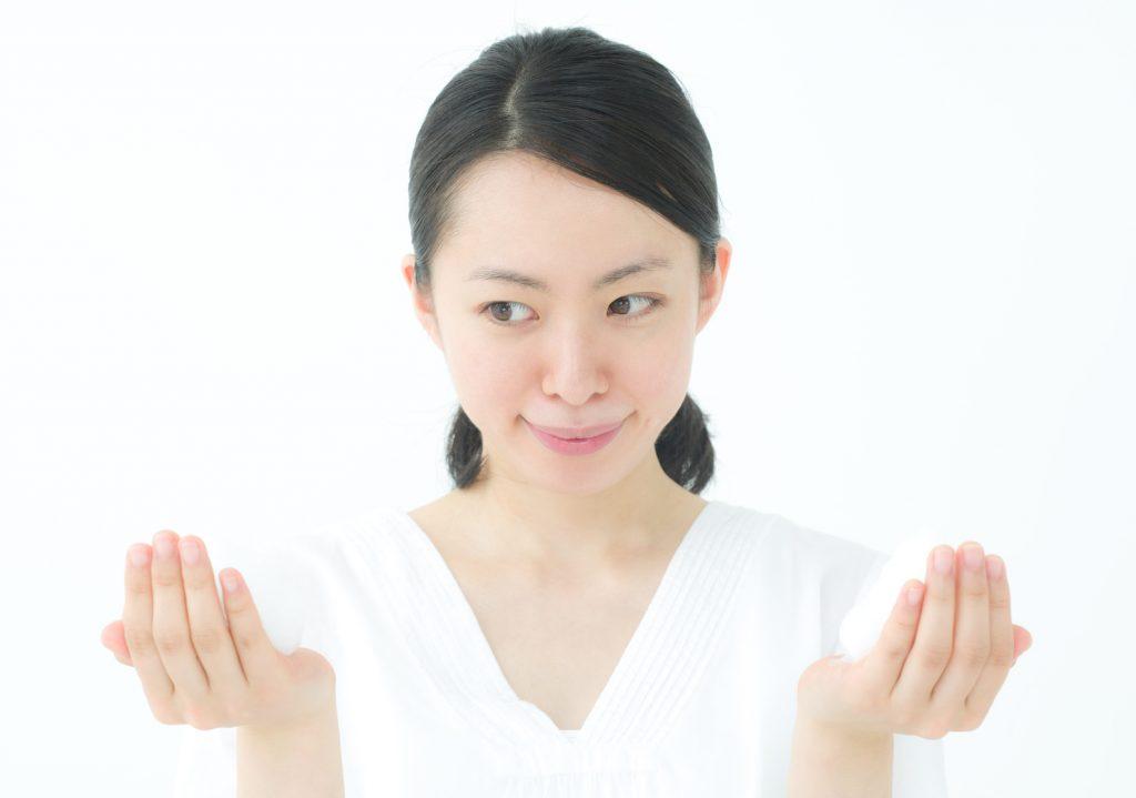 洗顔料の弱酸性と弱アルカリ性
