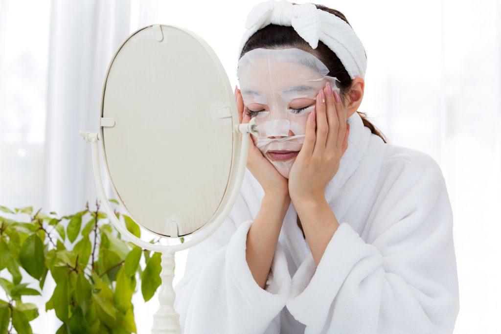 シートマスク・パックと化粧水の関係