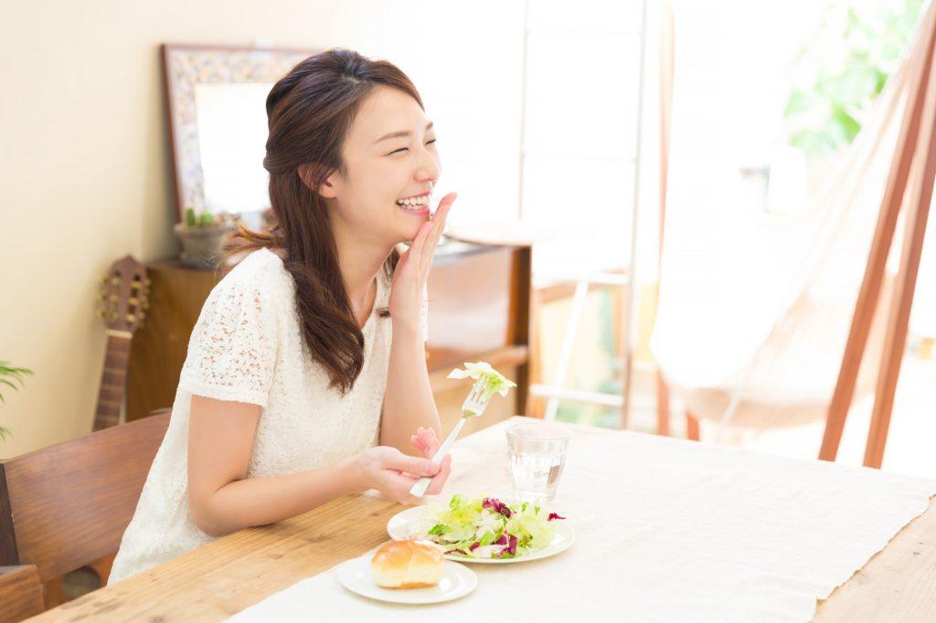 美肌は規則正し食事が作る