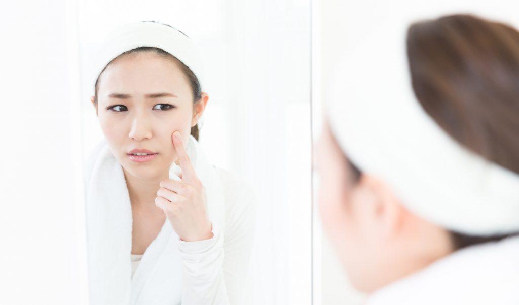 シャワー洗顔