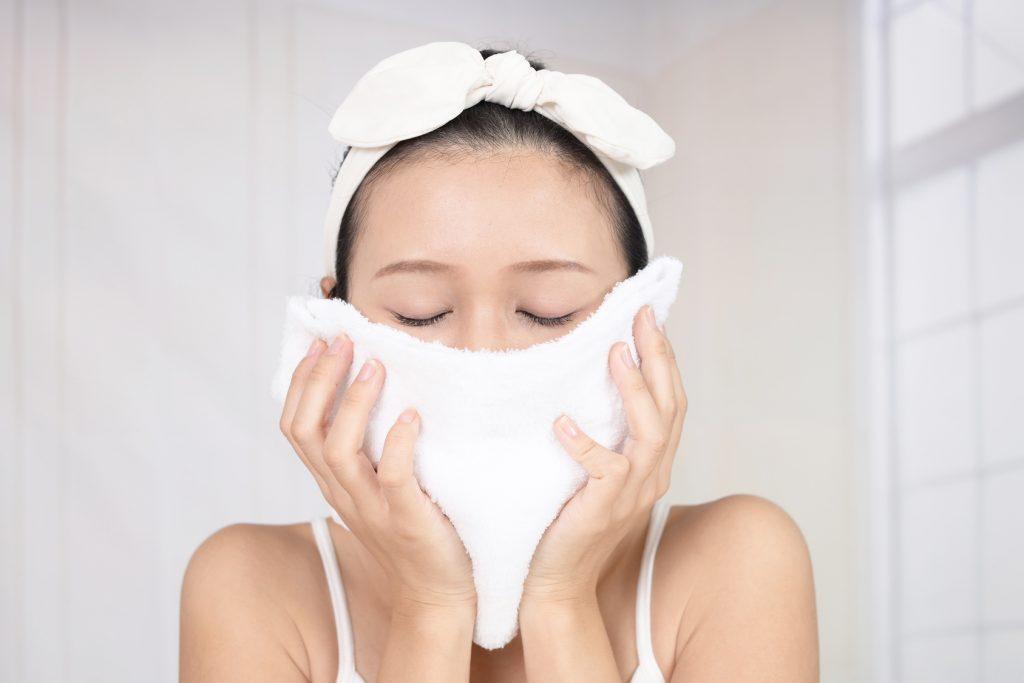 洗顔後の乾燥原因