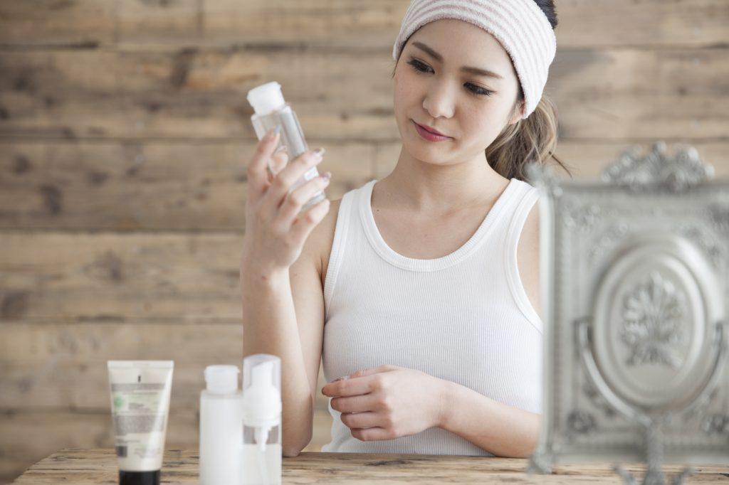 化粧品の変更が肌荒れ原因