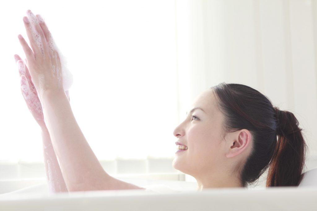 入浴でテカリ防止