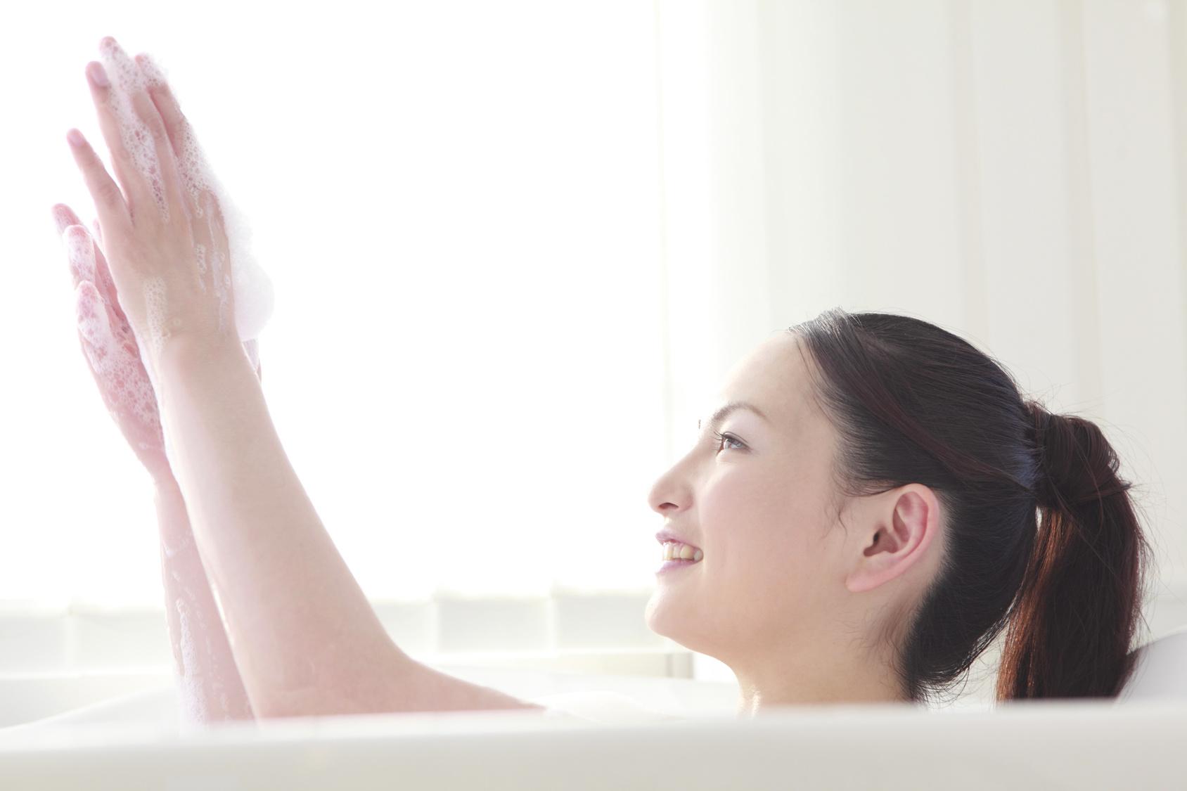 乾燥肌のお風呂の入り方