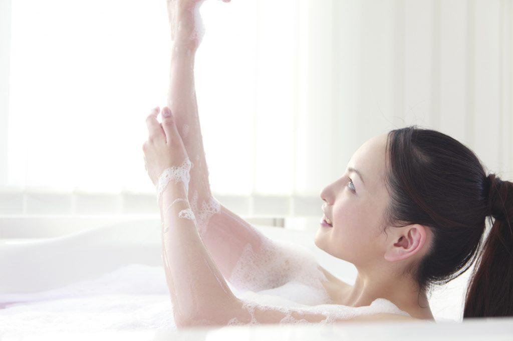 乾燥肌のお風呂入り方