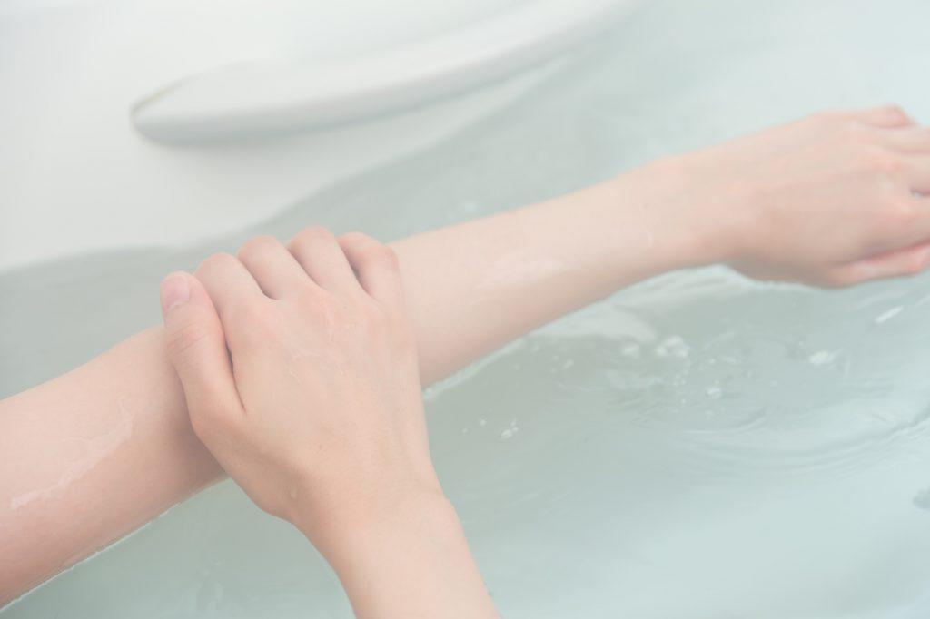 ゴシゴシ擦り洗いは乾燥肌の原因