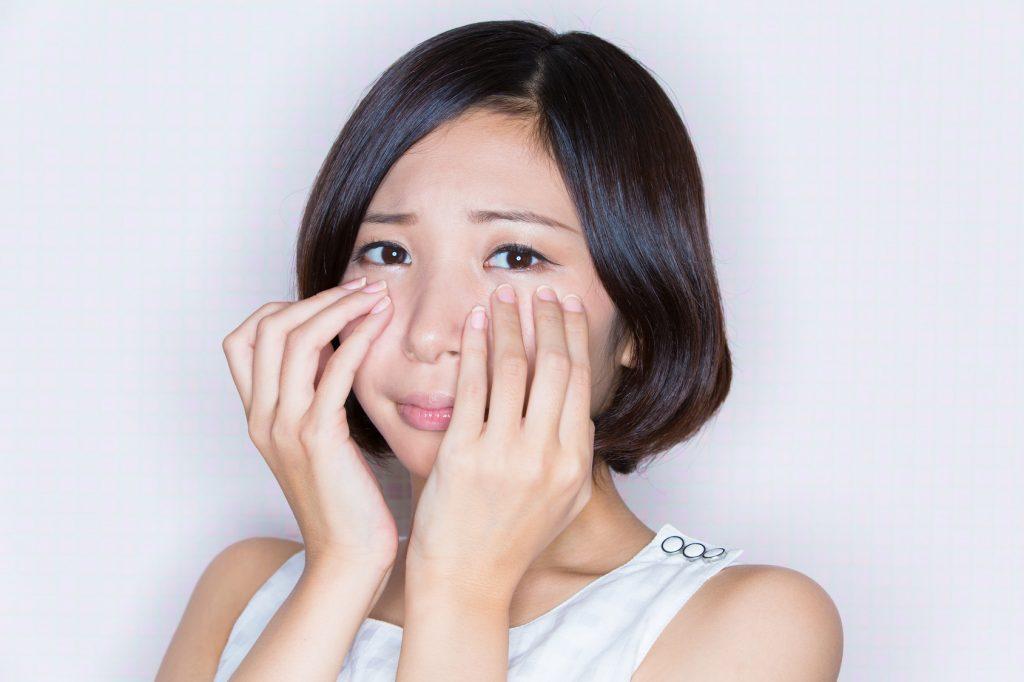 バリア機能が低下した肌