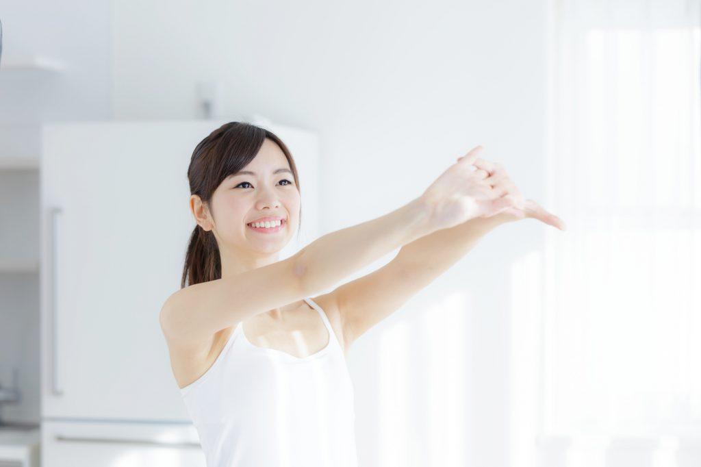 運動と美肌